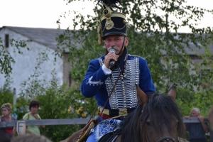Huszár és lovasíjász bemutató